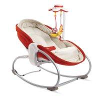 Transat bébé rocker napper rouge