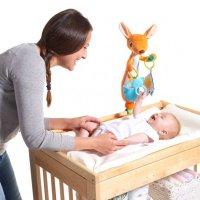 Jouet d'éveil bébé pour table à langer kangourou kangy