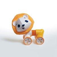 Jouet bébé hochet tiny roller friend le lion leonardo