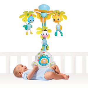 Mobile bébé soothe'n groove safari