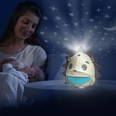 Veilleuse bébé projecteur sound' n sleep dans la prairie Tiny love