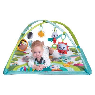 Tapis d'éveil bébé avec arches sunny day dans la prairie Tiny love