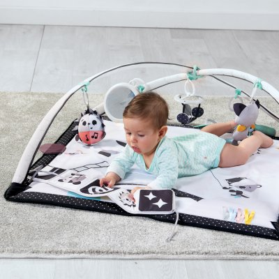 Tapis d'éveil bébé gymini black & white Tiny love