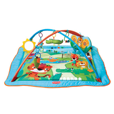 Tapis d'éveil kick and play city safari Tiny love