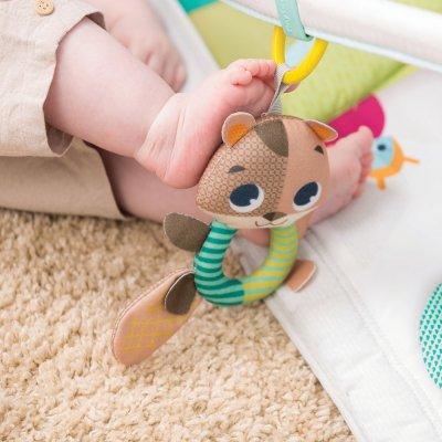 Tapis d'éveil bébé gymini dans la fôret Tiny love