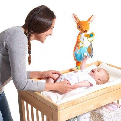 Jouet d'éveil bébé pour table à langer kangourou kangy Tiny love