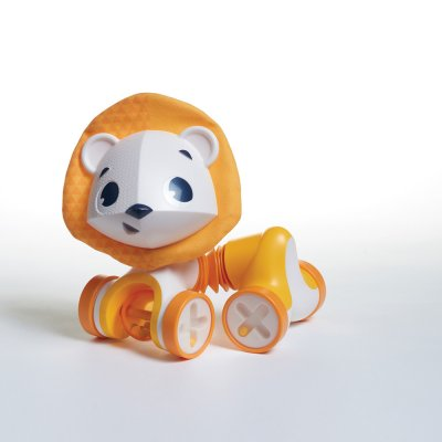 Jouet bébé hochet tiny roller friend le lion leonardo Tiny love