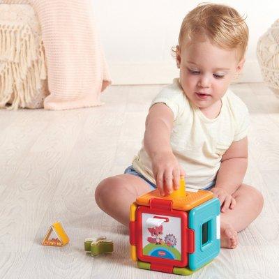 Jouet bébé cube magique et jeux d'encastrement Tiny love