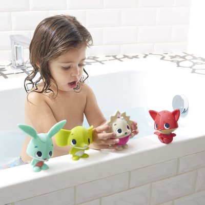 Jouet bébé bain set aspergeurs xl tiny friends Tiny love