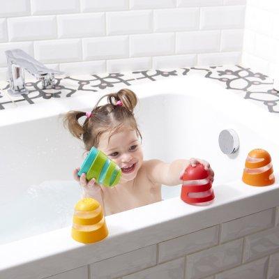Jouet de bain bébé set de tasses Tiny love