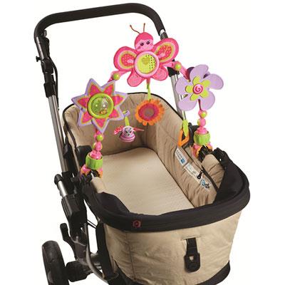Jouets de voyage bébé arche articulée sunny stroll princesse Tiny love