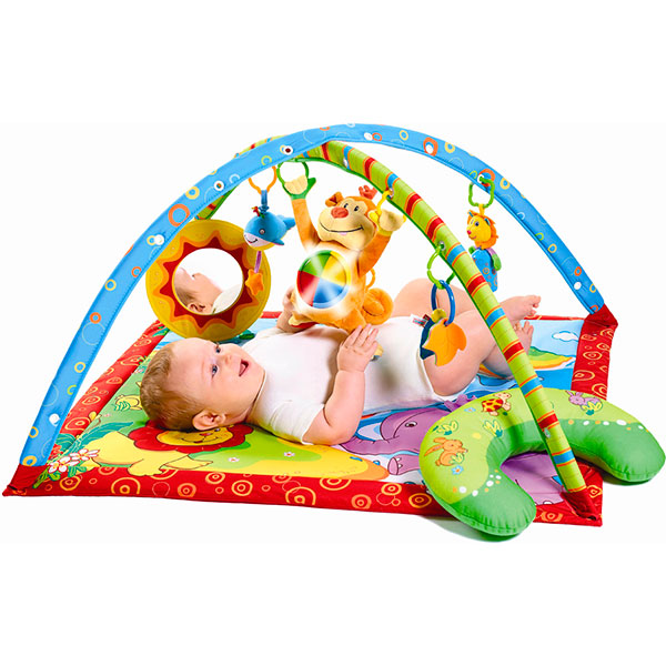 Tapis d'éveil gymini super deluxe monkey Tiny love