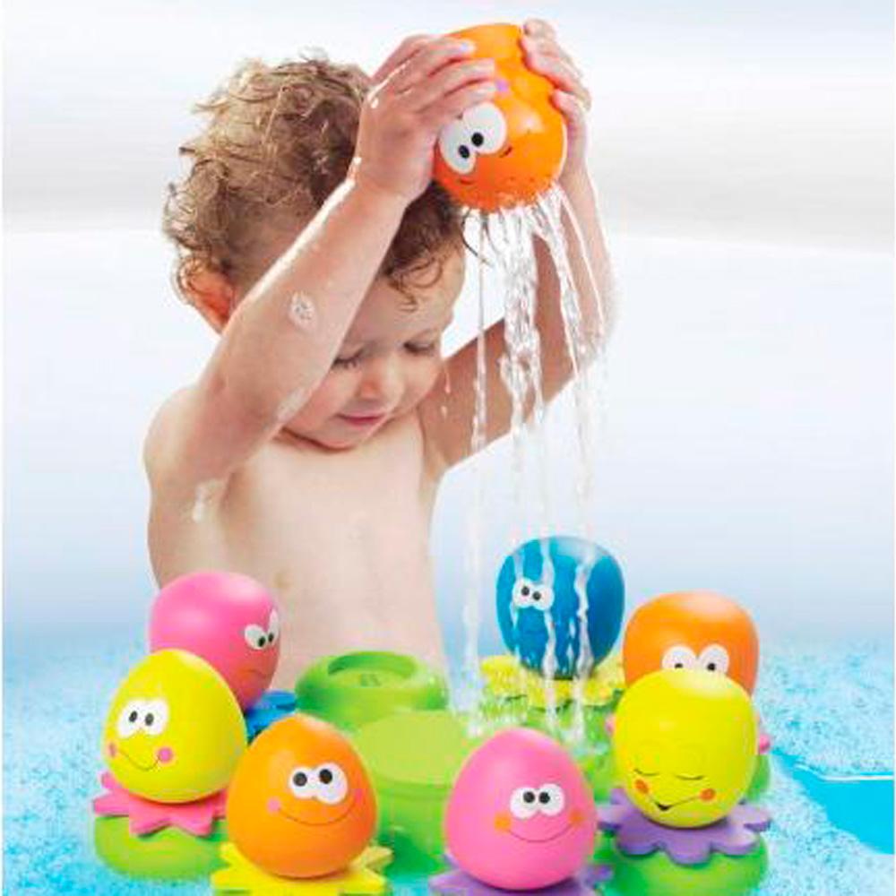 jouets de bain b b poulpy et compagnie 25 sur allob b. Black Bedroom Furniture Sets. Home Design Ideas