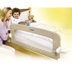 Barrière de lit pliable universelle beige pas cher