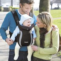 Porte bébé ventral premier noir