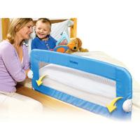 Barriere de lit pliable universelle bleu