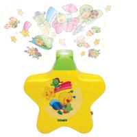 Veilleuse bébé étoile enchantée jaune