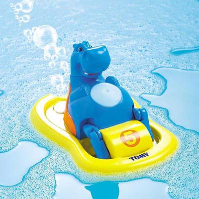 Jouets de bain bébé hippo pedalo Tomy