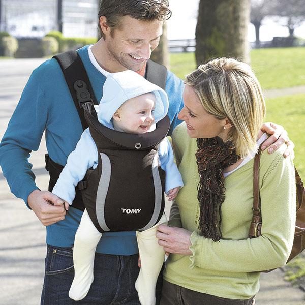 Porte bébé premier noir Tomy