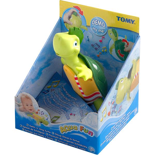 Jouets de bain bébé gloup gloup la tortue Tomy