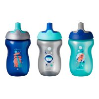 Lot de 3 tasses sporty bleu12m+