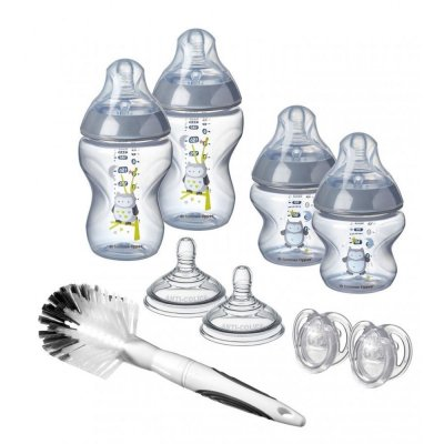 Kit naissance easi-vent closer to nature bleu Tommee tippee