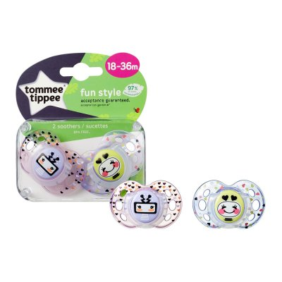 Sucette fun 18/36 mois Tommee tippee