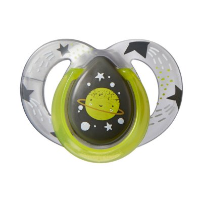 Lot de 2 sucettes night 6-12 mois Tommee tippee