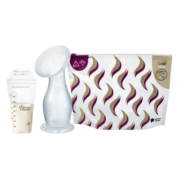 Lot de 36 sachets de conservation lait maternel Tommee tippee