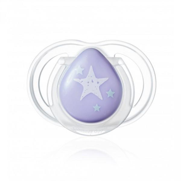 Sucette newborn 0-2 mois violette