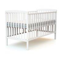 Lit bébé 70x140 confort blanc