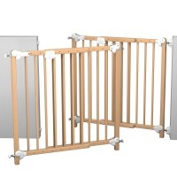 Barrière de sécurité 70-107 cm vernis
