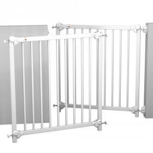 Barrière de sécurité 75-82 cm blanc