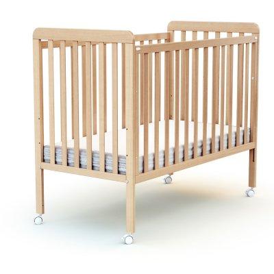 Lit bébé coulissant 60x120 confort At4