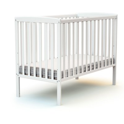 Lit bébé 60x120 confort blanc At4