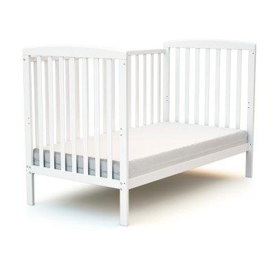 Lit bébé 70x140 confort blanc At4