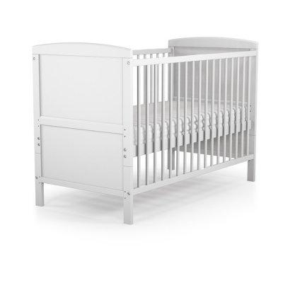 Lit bébé évolutif essentiel blanc 60 x 120 cm At4