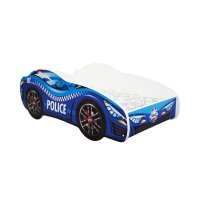 Lit junior 70 x 140 cm voiture racing car police