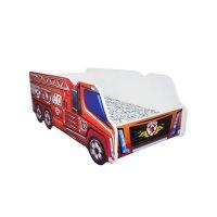 Lit junior 70 x 140 cm camion pompier