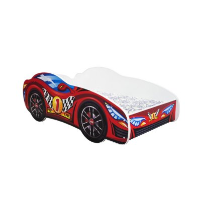 Lit junior 70 x 140 cm voiture racing car top car Top beds