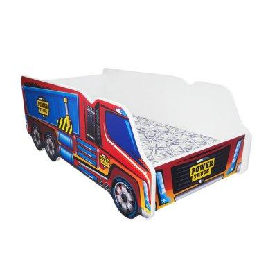 Lit junior 70 x 140 cm camion power truck Top beds