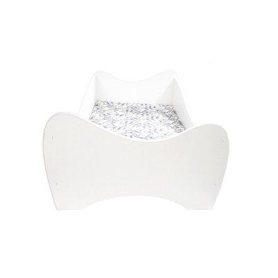 Lit junior 70 x 140 cm midi blanc Top beds