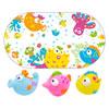 Tapis de bain bébé océan et 3 aspergeurs Taf toys