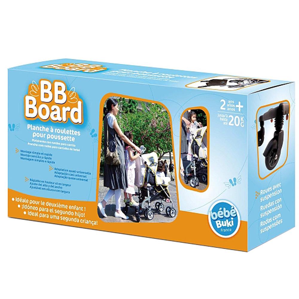planche roulette pour poussette bb board de taf toys. Black Bedroom Furniture Sets. Home Design Ideas