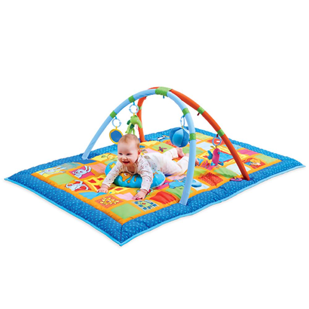 tapis d eveil aire de jeu 3 en 1 de taf toys chez naturab 233 b 233