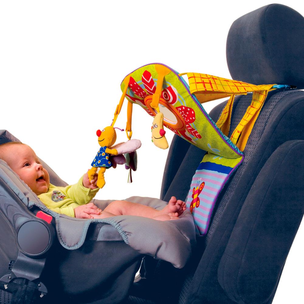 Jouet de voyage b b tableau d 39 veil de voiture de taf for Miroir voiture bebe