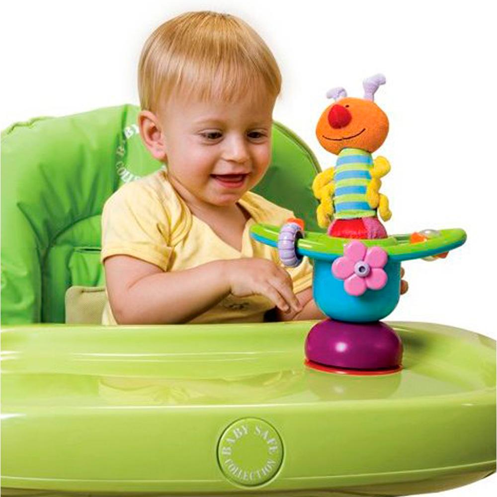 jouets d 39 veil b b mini carrousel pour chaise haute de taf toys. Black Bedroom Furniture Sets. Home Design Ideas