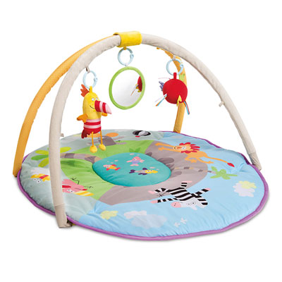 Tapis d'éveil aire de jeu jungle Taf toys