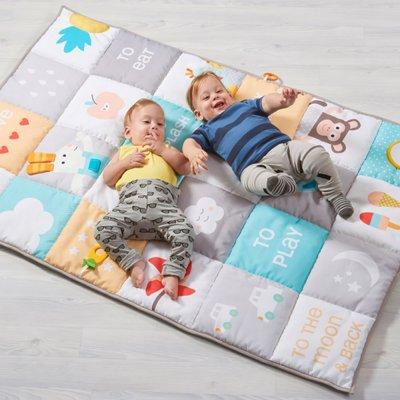 Tapis d'éveil géant sans arche 100x150cm Taf toys