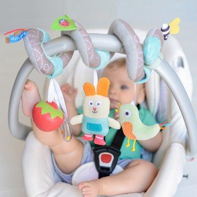 Jouets de voyage bébé spirale jardin Taf toys